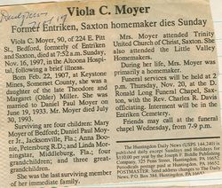 Moyer, Viola C. Miller 1997