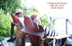 Craig and Tanya, enjoying the sunset