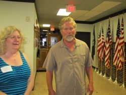 Vickie Martin Clark and Dan Schmidt
