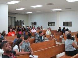Participantes de la Congregacion