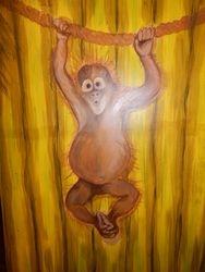 Safari Hut - Monkeying around :)