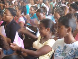 Our PP Girl's Conference -Wolmer's. Sept. 2008