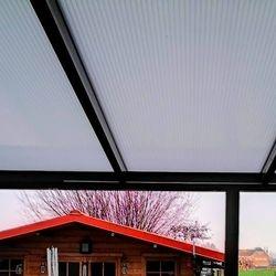 Polycarbonaat platen veranda