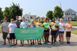 Walk 4 Water at SMART Camp