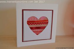 Valentines Day Ribbon Card