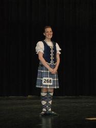 Congrats to Sara - Winner of the Caitlin Stewart Memorial Scholarship 2010