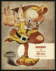 1946 San Francisco 49ers vs. Cleveland Browns