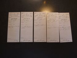 Military Service Records - Muster Rolls