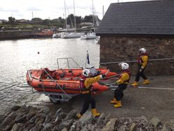 Courtown RNLI launch on Exercise