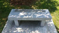 Walker-Terry SCV Bench at Wither's Park
