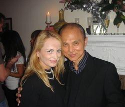 Delia Antal & Jimmy Choo