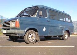 1980s Riot Van