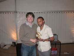 Mike Jones Top Goal Scorer Award