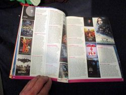 Page Spread of The Top 100 Sci-Fi Films of All Time (and Space) with My Mini-Review of Star Trek II: The Wrath of Khan in Starburst Magazine #473: The Top 100 Sci-Fi Films of All Time (and Space) Collectors? Edition