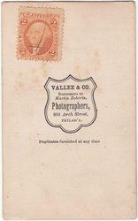 Vallee & Co. of Philadelphia, PA - back