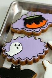 Hallowee Gingerbread Cookies
