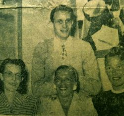 Julia Lundgrens konditori 1950