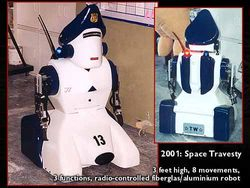 """Parking Police Robot --- """"2001:Space Travesty"""""""