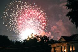 Home town Fireworks 7