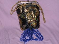 Hand crafted silk purse