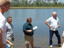 Baptism at Blackwater River