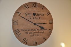 Custom made clocks