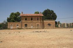 The rail station, Beersheba