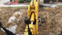 Septic system replacement