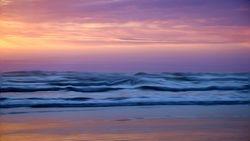 sea view sunset