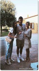 Tomas Berdych, Ester Satorova and friend Lucie Salame