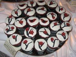 Love Birds Cupcakes