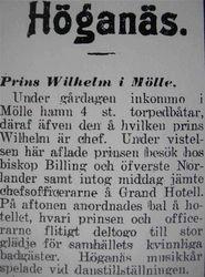 Prins Wilhelm 27 juli 1915