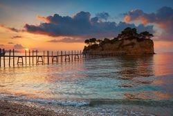 Zakythos island , Ionina sea