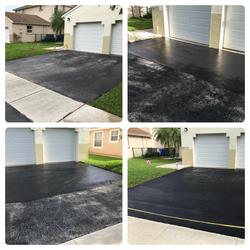 Driveway Blacktop Sealing