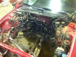 durty engine bay .. we take care of that .