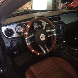 Steering wheel cover