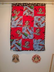 Thirteenth: Police and Fire Quilt