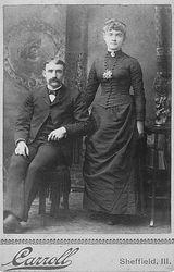 Edwin Guy Forrest & Mary Mae Forrest nee Mevich of Sheffield, Illinois
