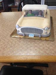 Metropolitan Car Cake