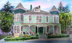 Centrella B&B - Side View, Pacific Grove