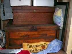 ANTIQUE  TOOL BOXES w/ TOOLS