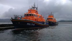 Severn Class Lifeboats at Valentia