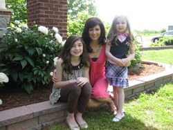 What being MOM is all about... my girls!