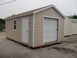 12x16 witha 6' roll up and side access  door