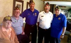 World War II Veteran Medals Ceremony
