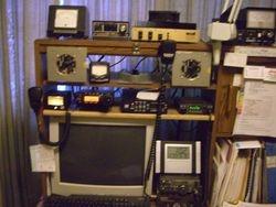 Radio ops desk