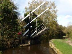 Lowering the bridge