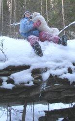 Aurora & her girl :)
