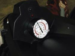 Original R+D photo vacuum/pressure gauge
