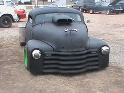 50 Chevy rat rod truck